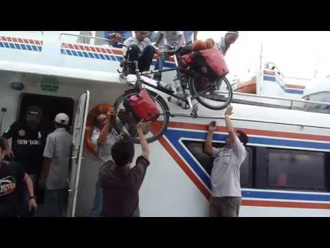 Batam to Dumai Ferry Indonesia, England to Australia Cycle Tour February 2012