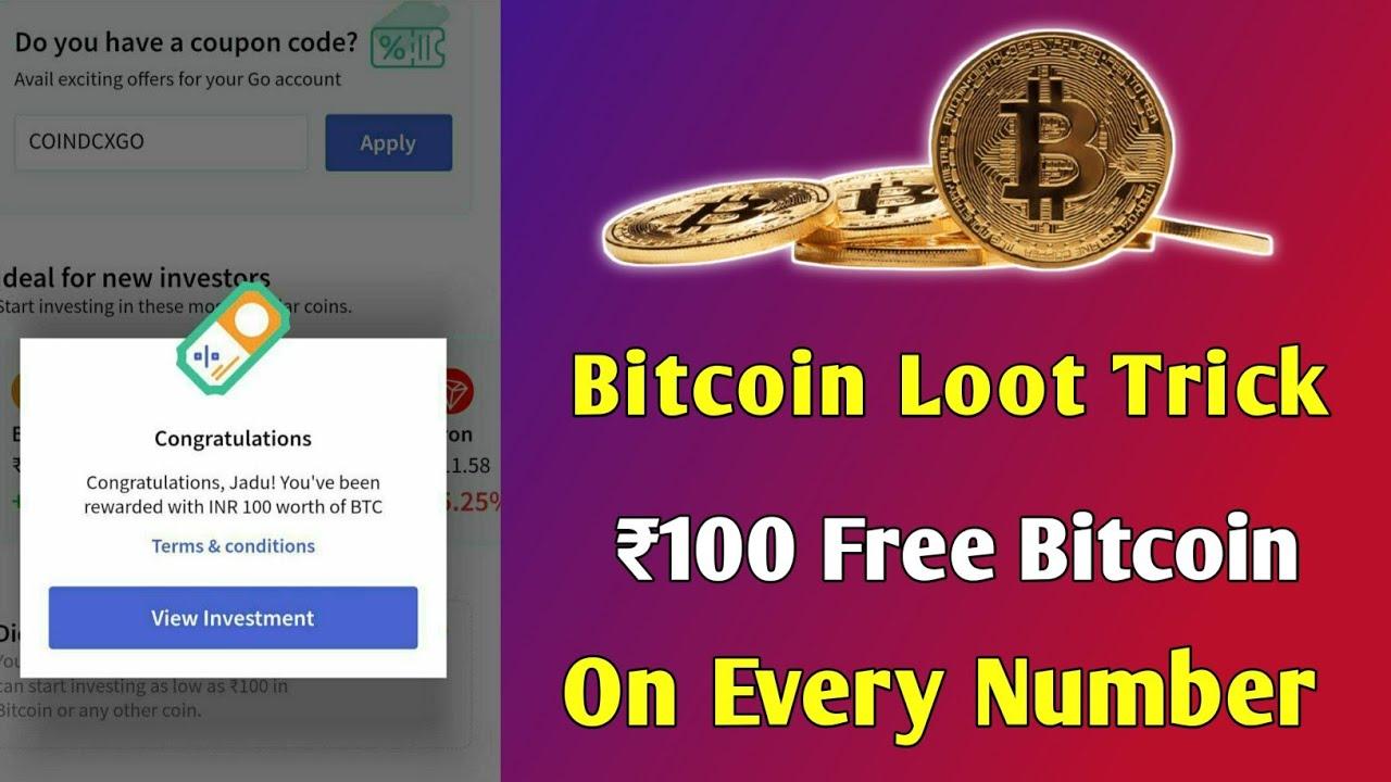 bitcoin investe r100