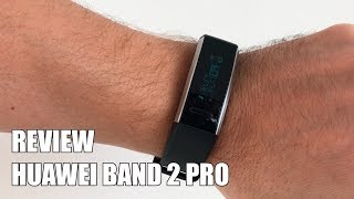 Review Huawei Band 2 Pro Nueva Smartband GPS 2017