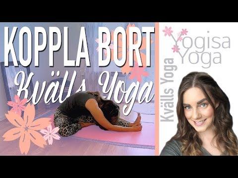 Kvällsyoga 5 min - Koppla bort - Yogisa Yoga 🌙