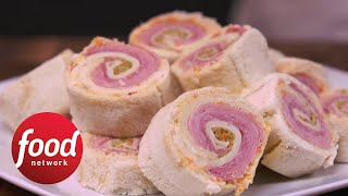 NOLA-Inspired Muffuletta Pinwheels  Food Network