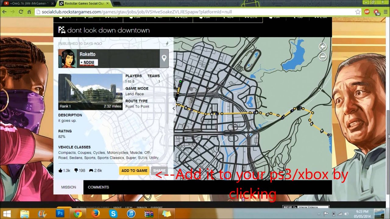 How To Play Modded Custom Gta5 Fun Races Missions Easy