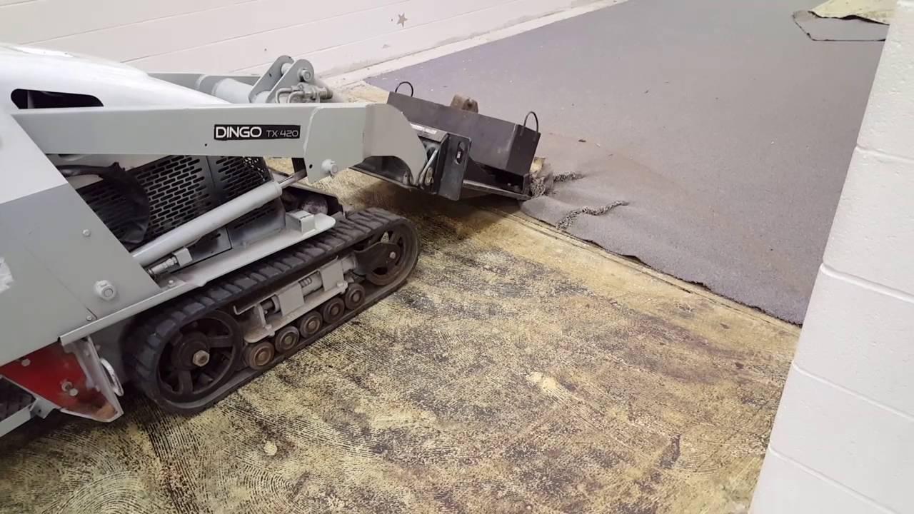 Floor demolition with dingo youtube floor demolition with dingo dailygadgetfo Images