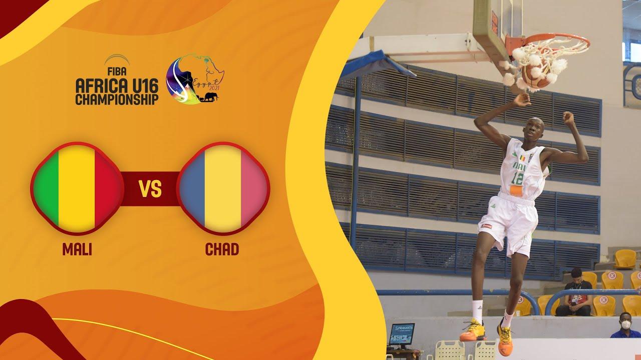 SEMI-FINALS: Mali v Chad | Full Game - FIBA U16 African Championship 2021