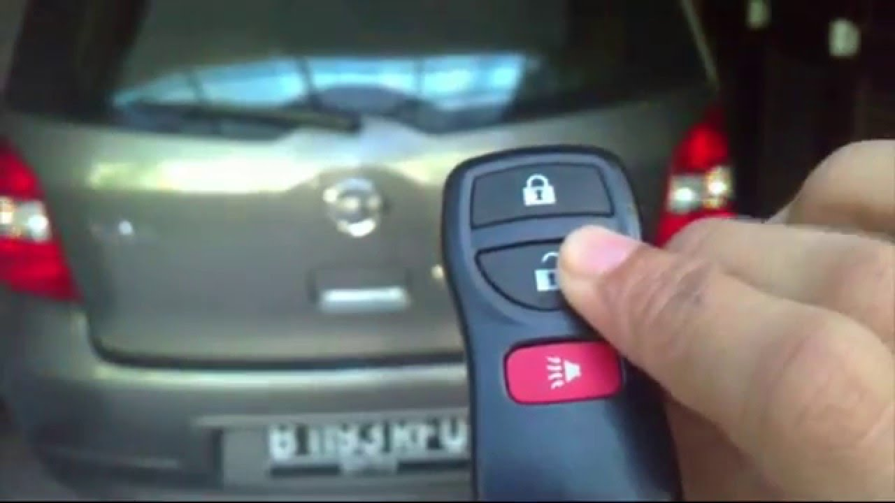 how to make silent or unsilent alarm nissan livina YouTube