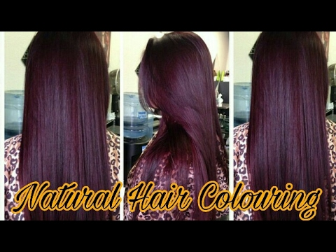 How To Colour Hair Naturally At Home || Hair Colour Without Dye ...