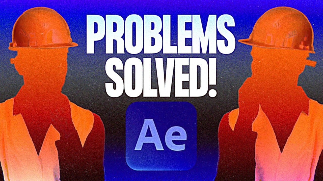 20 Quick Fixes to Common After Effects Problems