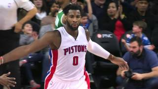 Andre Drummond Posts Fifth 20-20 Game of Season