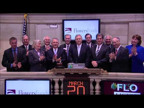 Flowers Foods Visits the New York Stock Exchange