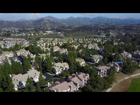 San Diego Carmel Mountain Ranch Golf Course by Drone | DJI Mavic Pro