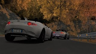 Autumn Usui Touge Battle! Miata Battle on Usui Short! - Assetto Corsa