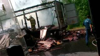 сгорела фура в оренбурге