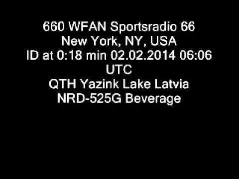 660 WFAN Sportsradio 66, New York, NY, USA