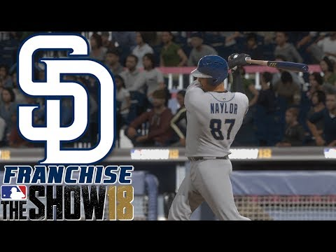 NAYLOR THE TANK - MLB The Show 18 - Franchise - San Diego ep. 5