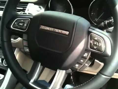 Range Rover Evoque First Look Inside Lane Youtube