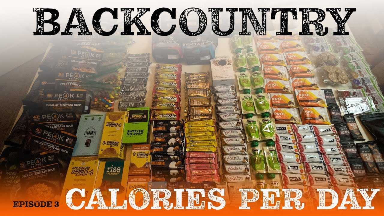 Backcountry Calorie Calculator | EP 3