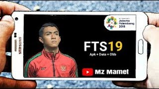 Downlod FTS 19 MOD ASIAN GAMES 2018 New Jersey || Jersey Baru Timnas Indonesia