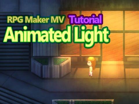 Animated Light for RPG Maker MV