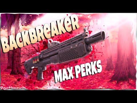 *MAX* Backbreaker Legendary Perks | Sunbeam Weapon Review | Fortnite Save The World