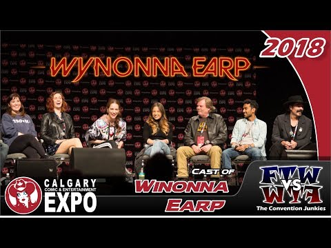 Wynonna Earp Cast Q&A - Calgary Expo 2018 - Full Panel