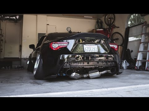 THE BRZ IS TOO DAMN LOUD!! (Tomei Header Install)