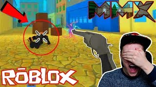 *EPIC* Getting A BLIND VICTORY!? MMX Released In ROBLOX! (Roblox MMX)