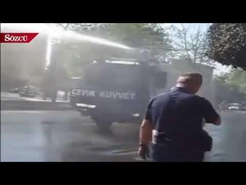 Ekrem İmamoğlu'nun biber gazına maruz kaldığı görüntüler ortaya çıktı