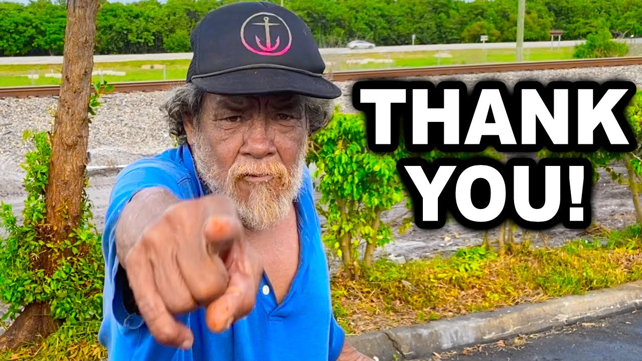 I Helped This Homeless Man Get Back On His Feet! ❤️