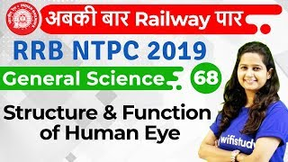 9:30 AM - RRB NTPC 2019 | GS by Shipra Ma'am | Structure & Function of Human Eye