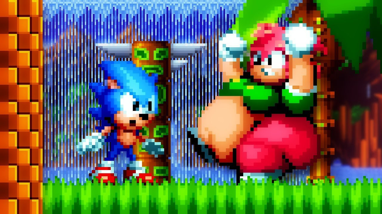 Sonic Mania Plus    But Amy is XL