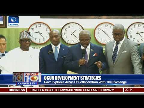 Ogun Govt Explores Areas Of Collaboration With NSE