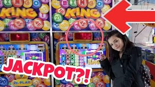 Can We Get The Bingo King Jackpot?? UK England Arcade - ArcadeJackpotPro