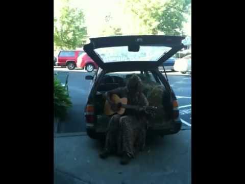 Amazing local blues singer