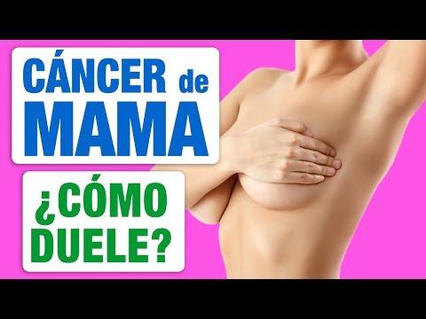 El cancer de mama no duele