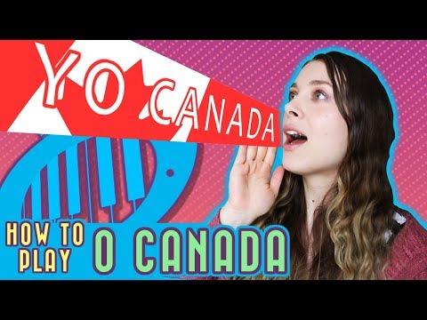 O Canada Piano Tutorial (+free Sheet Music)
