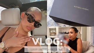 VLOG: LUXURY SHOES UNBOXING + RANDOM RANT Briana Monique&#39