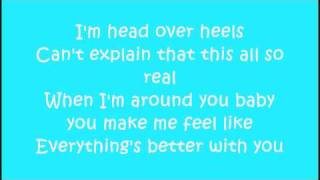 Big Time Rush ft Mann - Music Sounds Better With You - Lyrics