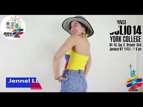Jennel Llanos - Invitacion Al Festival Independencia Orgullo Colombiano