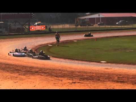 Kart racing in Swainsboro, Georgia
