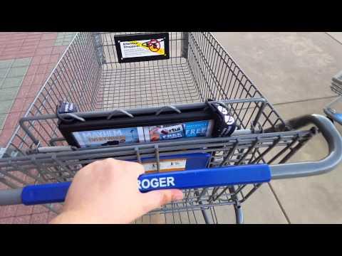 Smart Shopping Carts At Kroger.