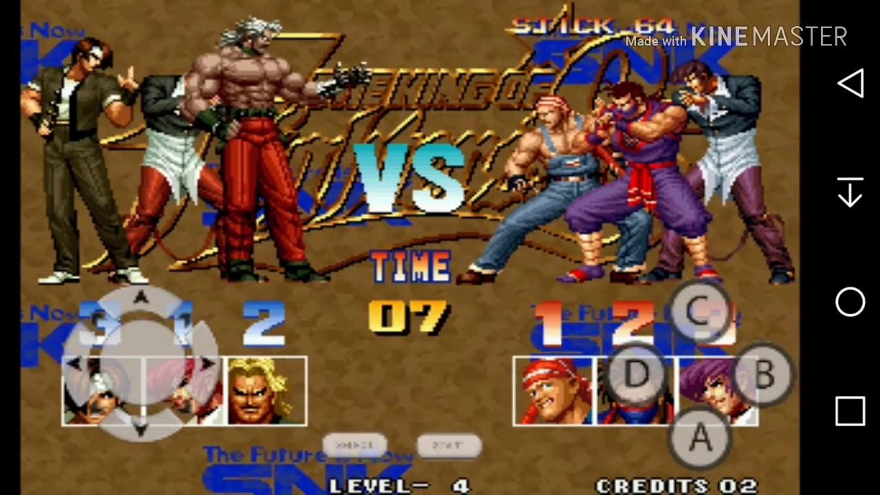 The King Of Fighters 95 APK Sem Emulador