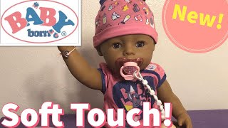 New Soft Touch Baby Born by Zapf Creation Box Opening and Review!