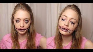Образ на хэллоуин / грим на хэлоуин / зашитый рот