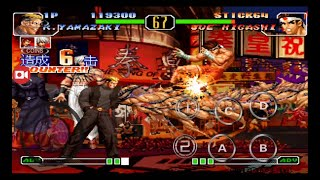 [TAS] THE KING OF FIGHTERS 97 INVENCIBLE MUGEN   KOF BD   PARA ANDROID GAMEPLAY   SPECIAL COMBOS