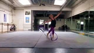 Rhythmic Gymnastics Coach Larisa
