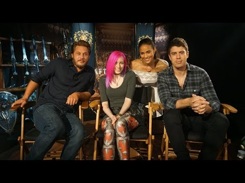 Warcraft Movie Interviews with Director & Cast
