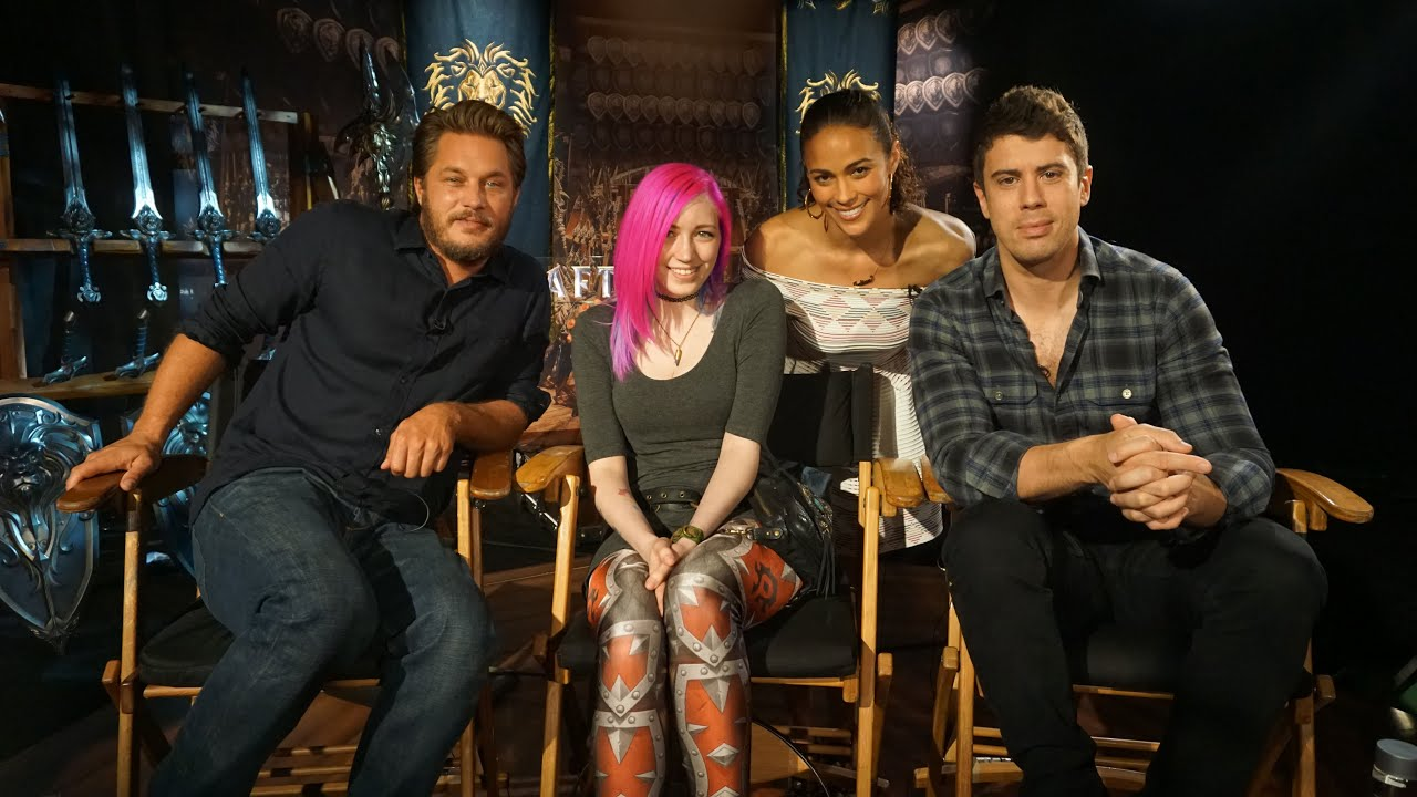 warcraft movie interviews with director cast tradechat youtube