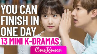 13 MINI KOREAN DRAMAS YOU CAN WATCH IN ONE DAY