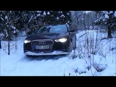 Audi A6 3.0 TDI Allroad quattro goes offroad- quattro power!