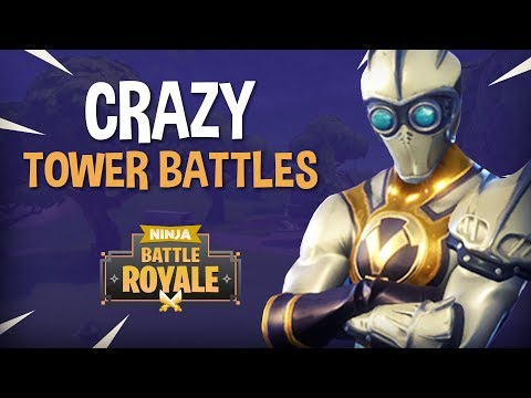 Crazy Tower Battles!! - Fortnite Battle Royale Gameplay - Ni